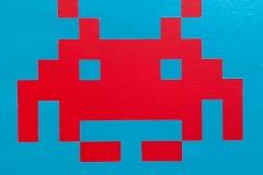 """Serie """"Space Invaders"""" - Rodrido Nevsky Fernández"""
